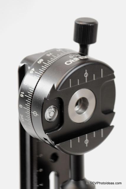 Benro PC-0 as vertical rotator