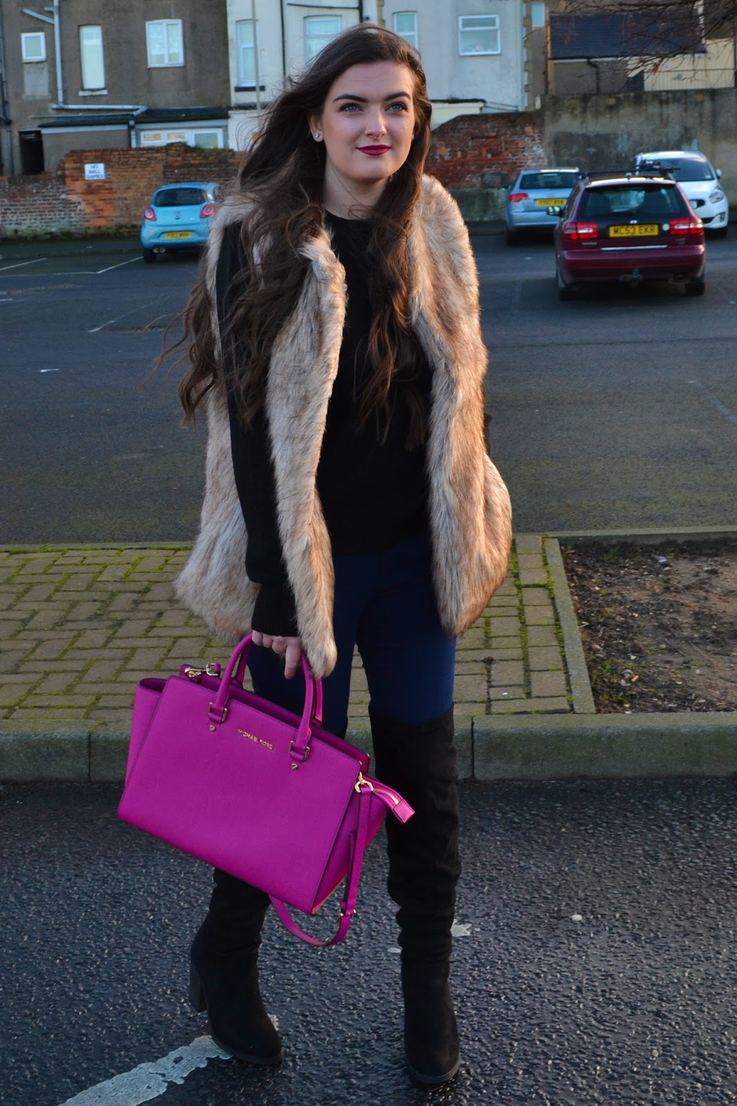 Knitwear & Over The Knee Boots - Rachel Nicole UK Blogger