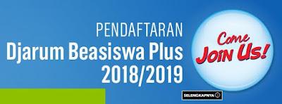 Hasil gambar untuk poster beasiswa djarum 2019