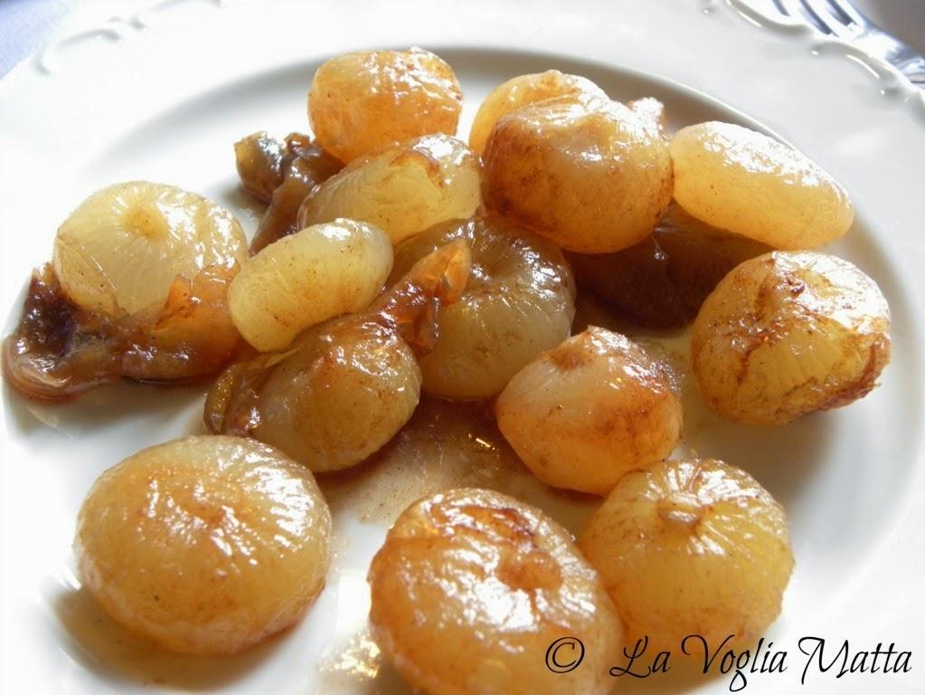Ristorante Savron cipolline ai chiodi di garofano e cannella