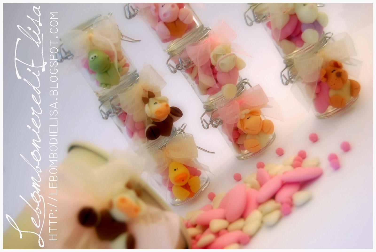 Lebombonieredielisa bomboniere battesimo for Piccoli piani di fattoria a 2 piani