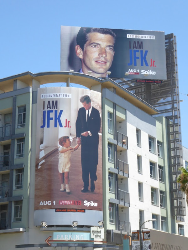 I am JFK Jr documentary film billboards