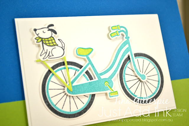 scissorspapercard, Stampin' Up!, Just Add Ink, Bike Ride, Better Together, Build A Bike Framelits