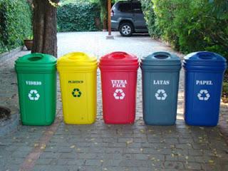 Reciclando en el hogar
