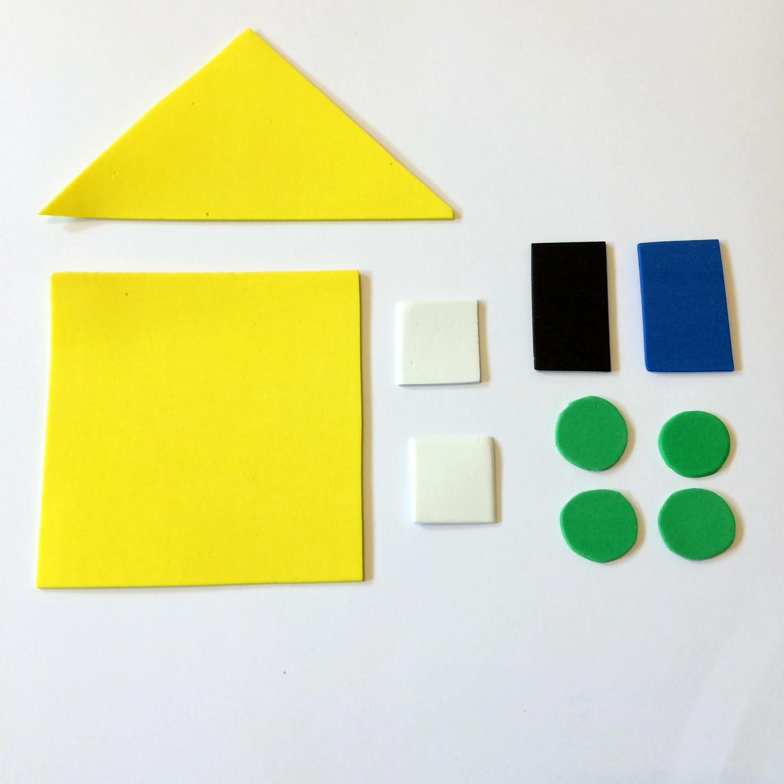 Little Family Fun Shape House Educational Craft