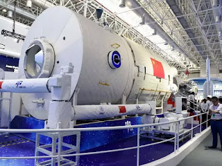 'Heavenly Palace' space station unveiled by China as ISS days numbered