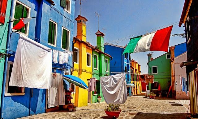 O que fazer na Ilha de Burano em Veneza