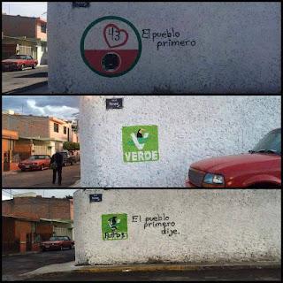 imagen del Street Art como  el arte bastardo