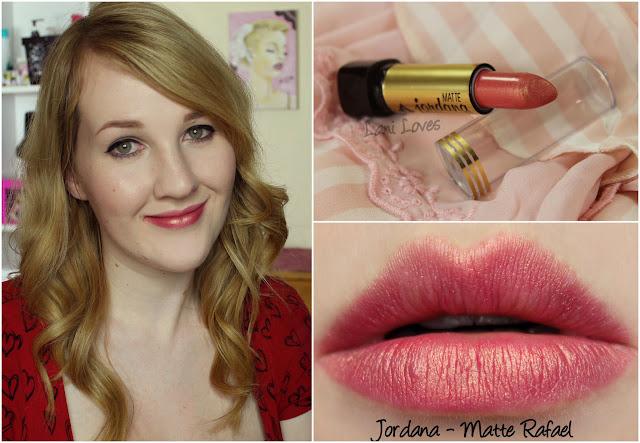 Jordana Matte Rafael lipstick swatch