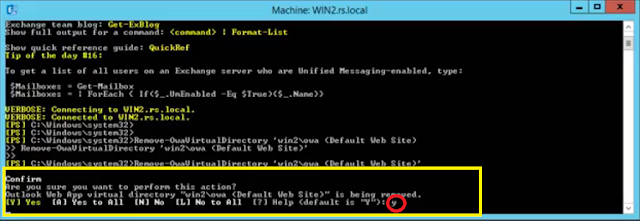 Outlook Web App virtual directory