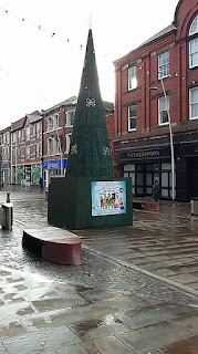 Christmas tree in Barrow in Furness by Marc Bazeley