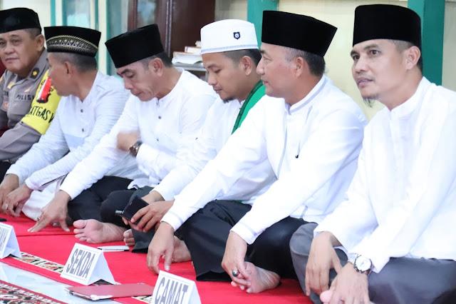 Pemkab Muba Gelar Safari Ramadhan di Kecamatan Lawang Wetan