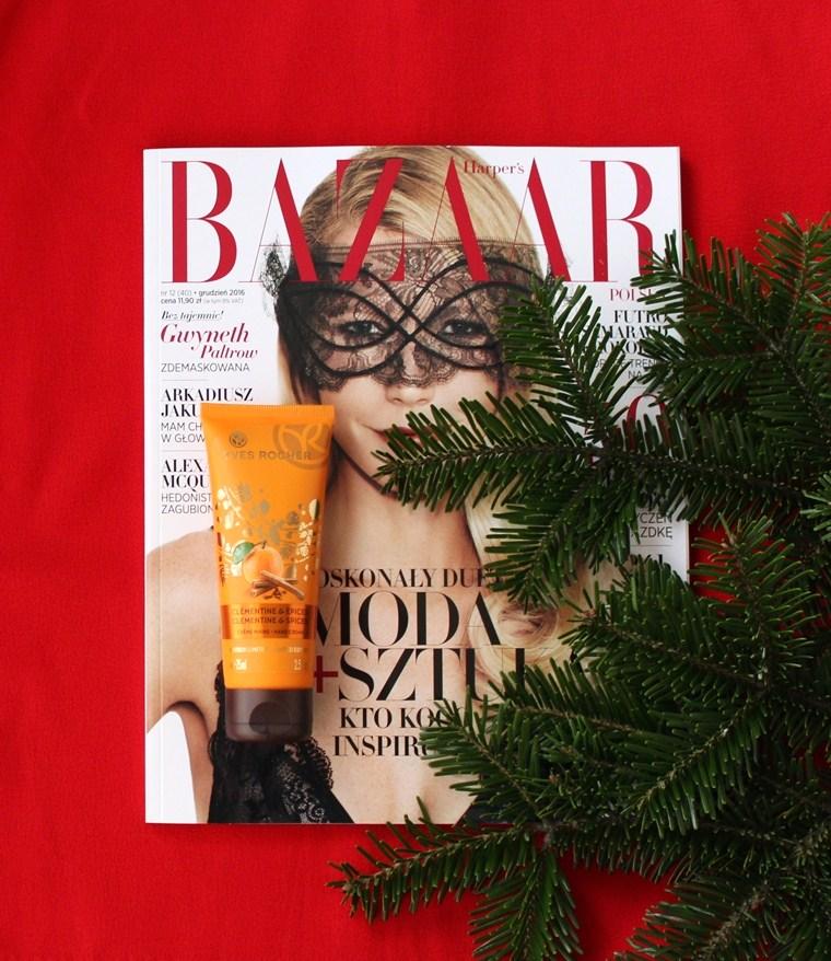 Kosmetyki o świątecznym zapachu, które musisz mieć - krem do rąk Yves Rocher Aromatyczna Mandarynka