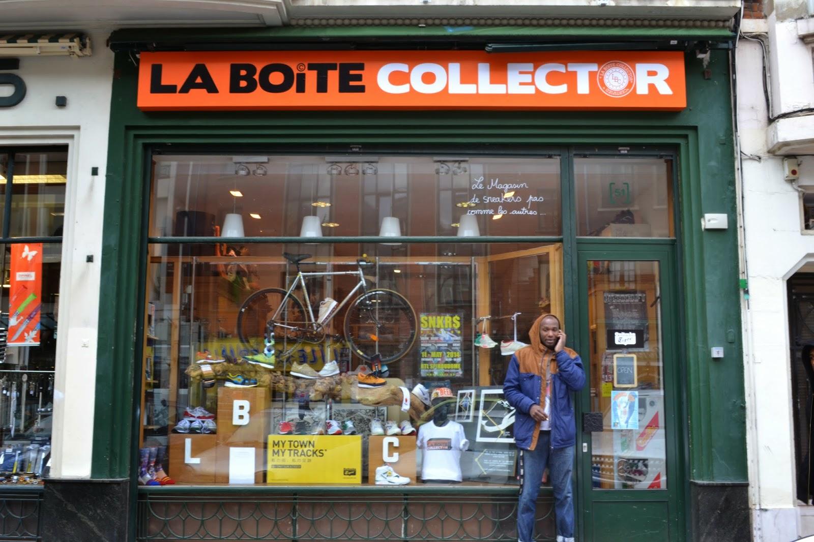 42cb57af883 La Boite Collector   une histoire de baskets. boutique vintage lille