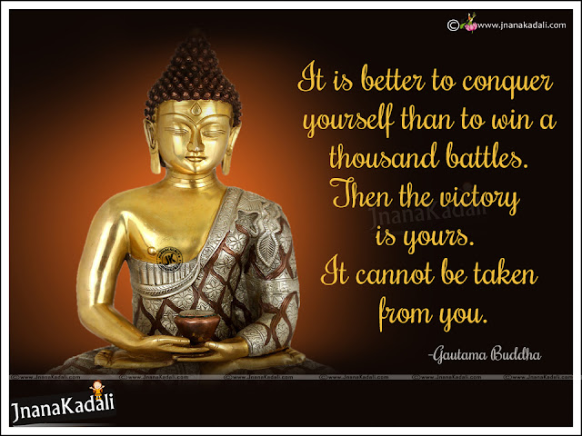 buddha hd wallpapers with Quotes in English, buddha inspirational quotes in English