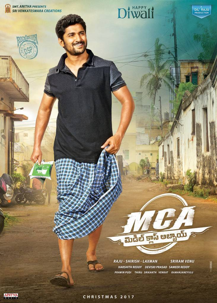 Nani MCA Middle Class Abbai Telugu Movie Stills Poster