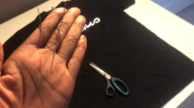 how to cut a shirt
