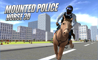 Download Mounted Police Horse 3D Apk