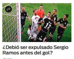 gol de Sergio Ramos contra el Deportivo