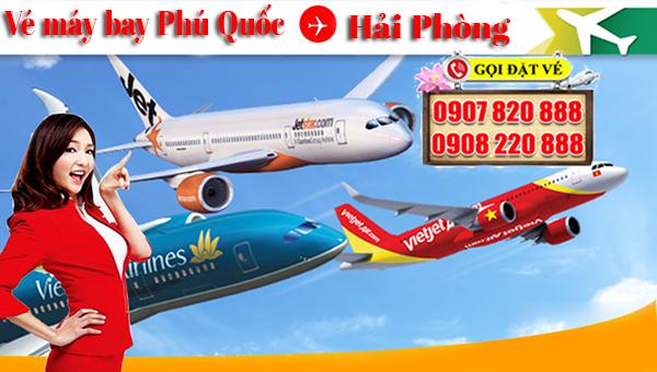 Vé máy bay Phú Quốc đi Hải Phòng