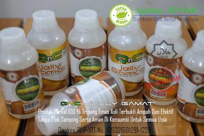 QnC Jelly Gamat  Obat Herbal Infeksi Saluran Kencing / Kemih Pada Pria & Wanita