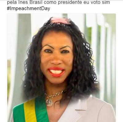 inês brasil presidente