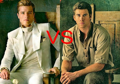 Peeta et Gale dans The Hunger Games
