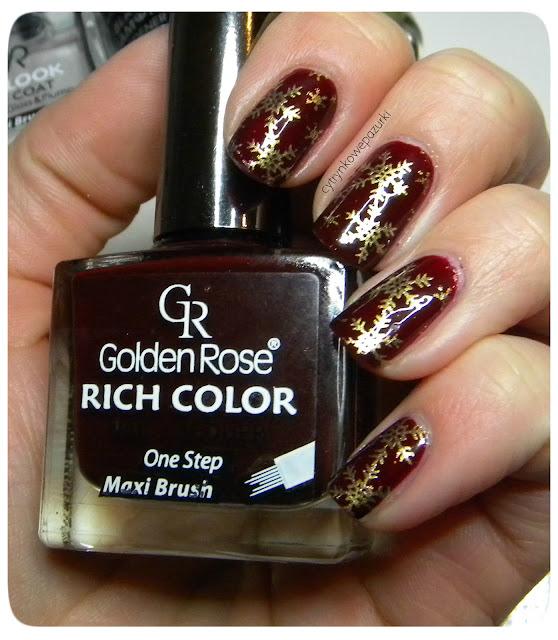 Golden Rose Rich Color30 i płytka BP-01