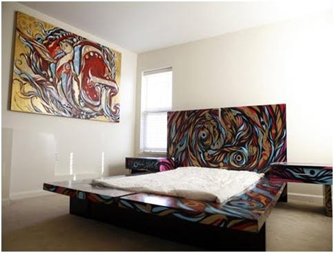 Juvenile Graffiti Bedrooms Graffiti Decoration Hip Hop
