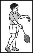 Cara Melakukan Servis Pendek Forehand : melakukan, servis, pendek, forehand, Olahraga:, Teknik, Dasar, Permainan, Tangkis