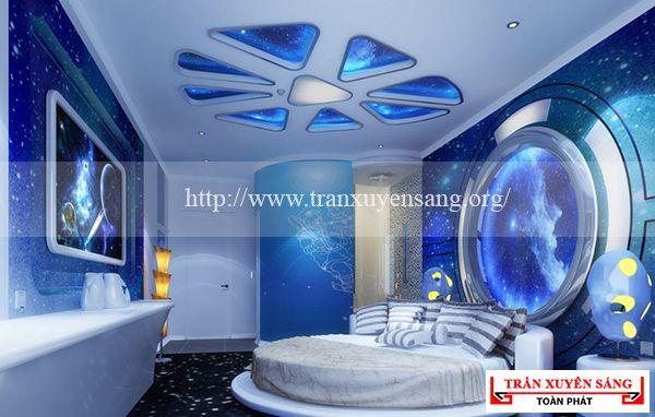 Mẫu trần phòng ngủ lãng mạn 2