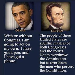 Obama vs. Lincoln