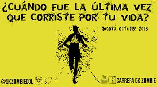 CARRERA 5K ¡ZOMBIE! se toma Bogotá