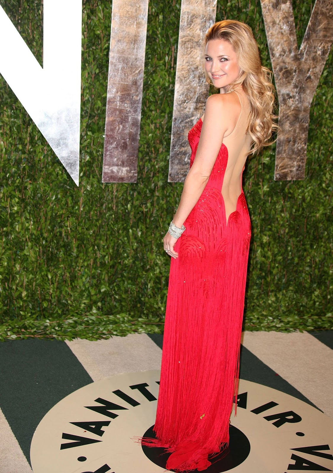 Kate Hudson at 2012 Vanity Fair Oscar Party at Sunset Tower 12