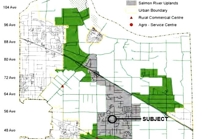 Bc Subdivision Plan Maps For Salt Spring Island