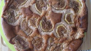 tarta pastel queso higos cheesecake breva verano otoño horno rica merienda postre fiesta celebración sencilla cuca receta