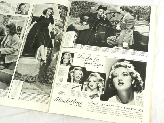 24 September 1940 worldwartwo.filminspector.com Look Magazine Lucille Ball