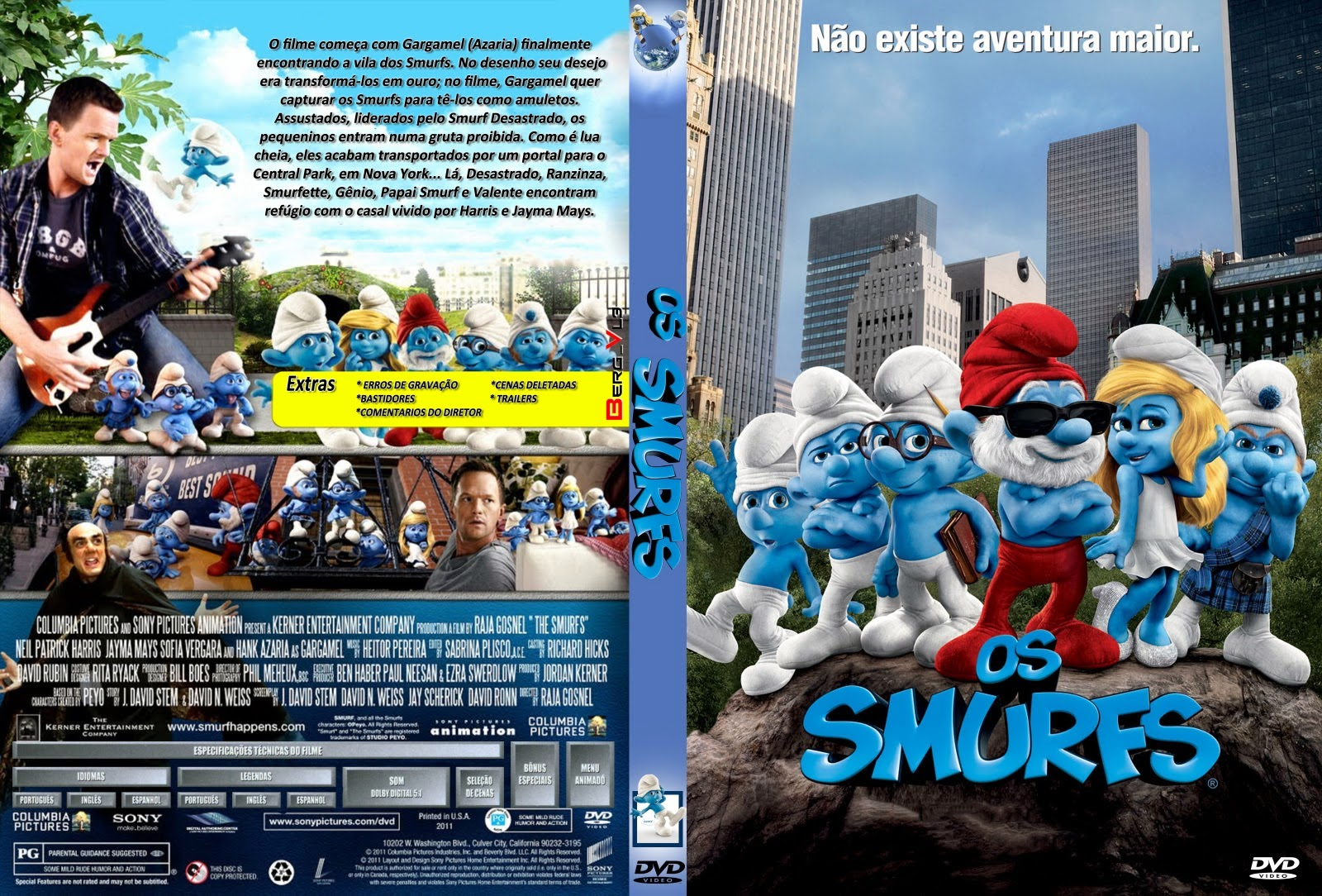 Os Smurfs O Filme