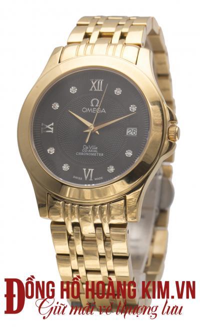 đồng hồ nam dây thép omega đẹp