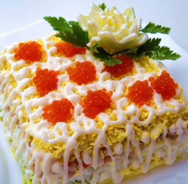 Вкусные салаты без сыра