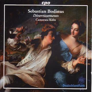 Sebastian Bodinus (c.1700-1759) - Divertissements