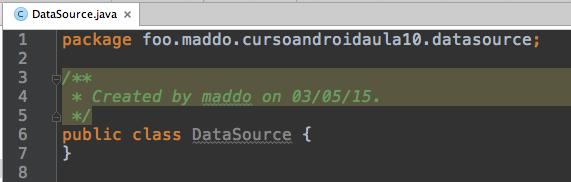 Professor Marco Maddo Curso Android Aula 10  CRUD SQLite