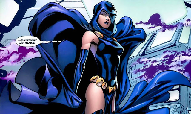 dc superheroine raven superhero perempuan
