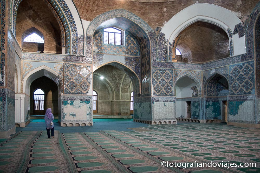Mezquita azul de Tabriz (Masjed-e Kabud)