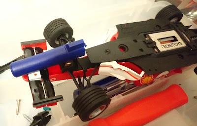 Arreglo del Ferrari F2004 Nº2 C3 Scalextric Tecnitoys