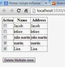 How to delete multiple rows from GridView using CheckBox in ASP.NET