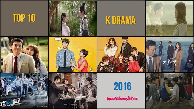 Top 10 K Drama 2016 Versi Vita Masli
