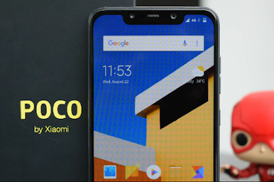 Xiaomi Pocophone F1's Leaked Photos, Retail box Leaked Photos