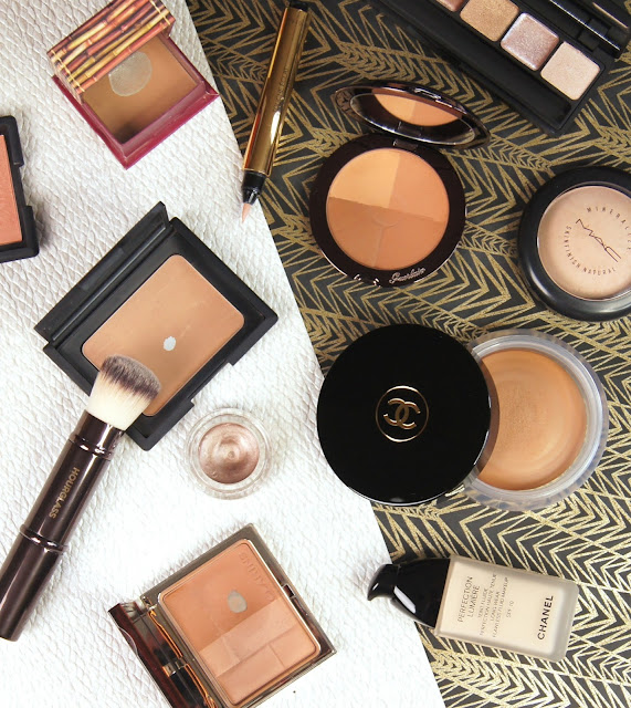 top 5 best bronzers high end chanel soleil tan de chancel bronzing base nars laguna benefit hoola guerlain terracotta four seasons clarins bronzing duo reviews