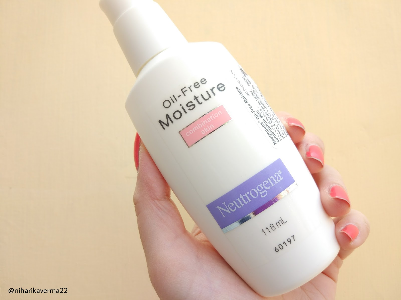 The Pink Velvet Blog - Neutrogena Oil Free Moisturizer